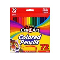 Cra-Z-Art 72 Count Artist Quality Real Wood Colored Pencils
