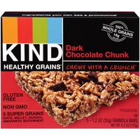 Kind Healthy Grains Dark Chocolate Chunk Granola Bars