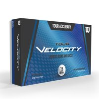 Wilson Tour Velocity Accuracy Golf Balls, 15-Ball Pack