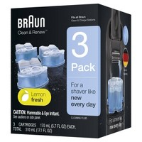 Braun Clean & Renew Refill Cartridges for Clean & Charge Systems CCR - 3pk