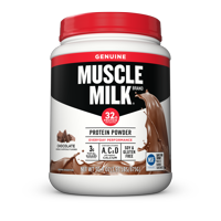 Muscle Milk Genuine Protein Powder, Chocolate, 32g Protein, 1.9 Lb