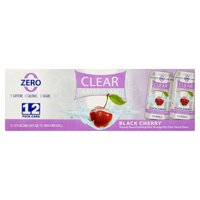 Clear American Black Cherry Sparkling Water, 12 Fl. Oz., 12 Count