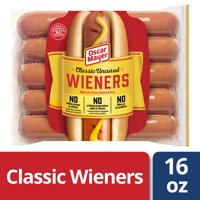 Oscar Mayer Classic Uncured Hot Dogs, 10 ct - 16 oz Package