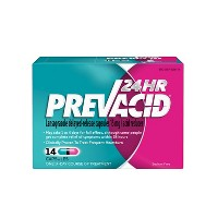 Prevacid 24 HR Lansoprazole Acid Reducer Delayed-Release 15 mg- PPI for Complete Heartburn Relief - 14 Capsules