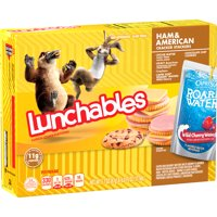 Lunchables Lunch Combinations Ham & American Cracker Stackers, 9.1 oz Box