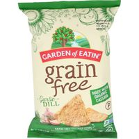 Garden of Eatin' Tortilla Chips, Grain Free, Garlic Dill