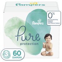 Pampers Pure Protection Diapers Size 3 60 Count