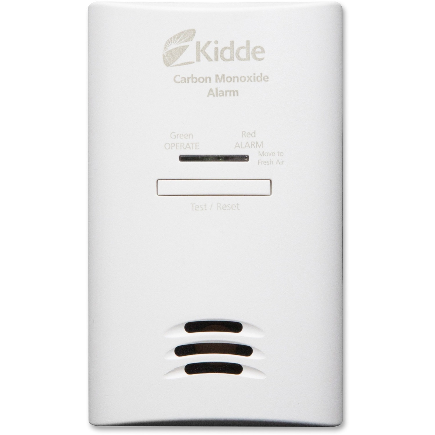 Kidde carbon monoxide alarm ac powered, plug-in with battery backup kn-cob-dp2. 3 Pack.