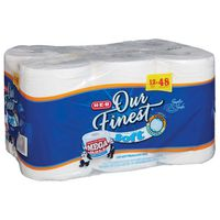 H-E-B Our Finest Ultra Soft Toilet Paper Mega Rolls