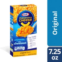 Kraft Original Flavor Mac and Cheese, 7.25 oz Box