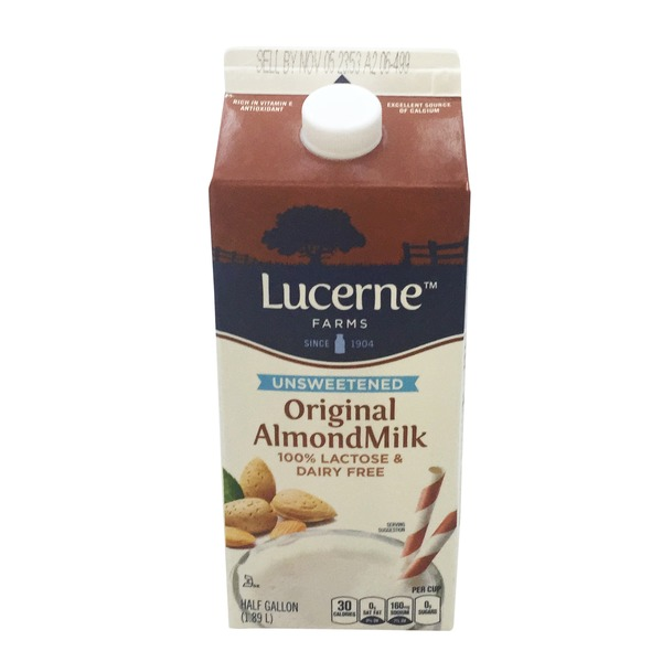 Open Nature Original Unsweetened Non-dairy Almond Beverage