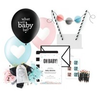 Gender Reveal Party Supplies Collection