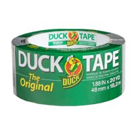 The Original Duck Tape Brand Duct Tape, 1.88 in. by 20 yd., Silver