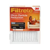 Filtrete 20x20x1, Allergen Defense Micro Particle Reduction HVAC Furnace Air Filter, 800 MPR, 1 Filter