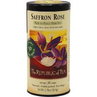 The Republic of Tea Saffron Rose Herbal Tea