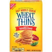 Wheat Thins Sundried Tomato & Basil Whole Grain Wheat Crackers, 9 oz