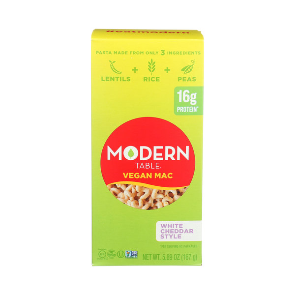 Modern table Mac and Cheese White Cheddar, 5.89 oz