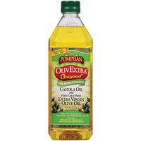 Pompeian OlivExtra Original Canola Oil and Extra Virgin Olive Oil