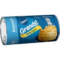 Pillsbury Grands! Flaky Layers Buttermilk Biscuits, 8 Ct, 16.3 oz