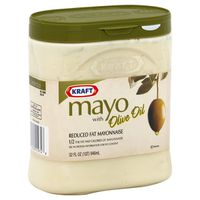 Kraft Mayonnaise, Reduced Fat, Mayo with Olive Oil