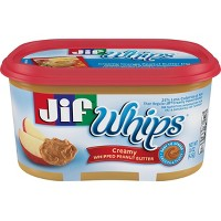 Jif Whips Creamy Whipped Peanut Butter 15.9oz