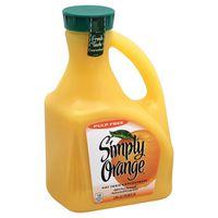 Simply Orange Orange Juice Pulp Free