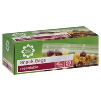 Signature Home Snack Bags, Resealable