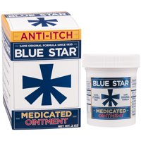 Blue Star Medicated Anti-Itch Ointment, 2 oz