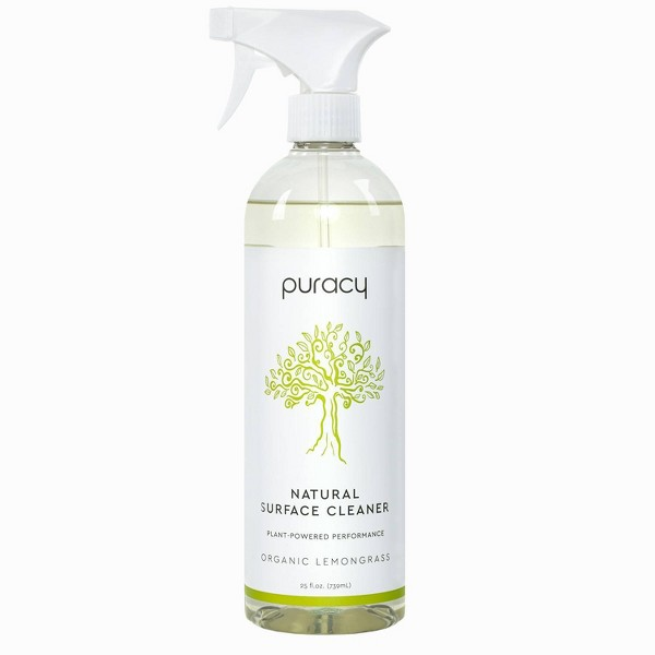 Puracy Organic Lemongrass Natural Multi Surface Cleaner - 25 fl oz