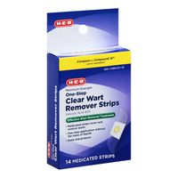 H-E-B Clear Wart Remover Strips