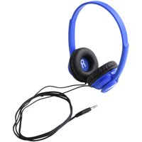 onn. On-Ear Headphones - Blue