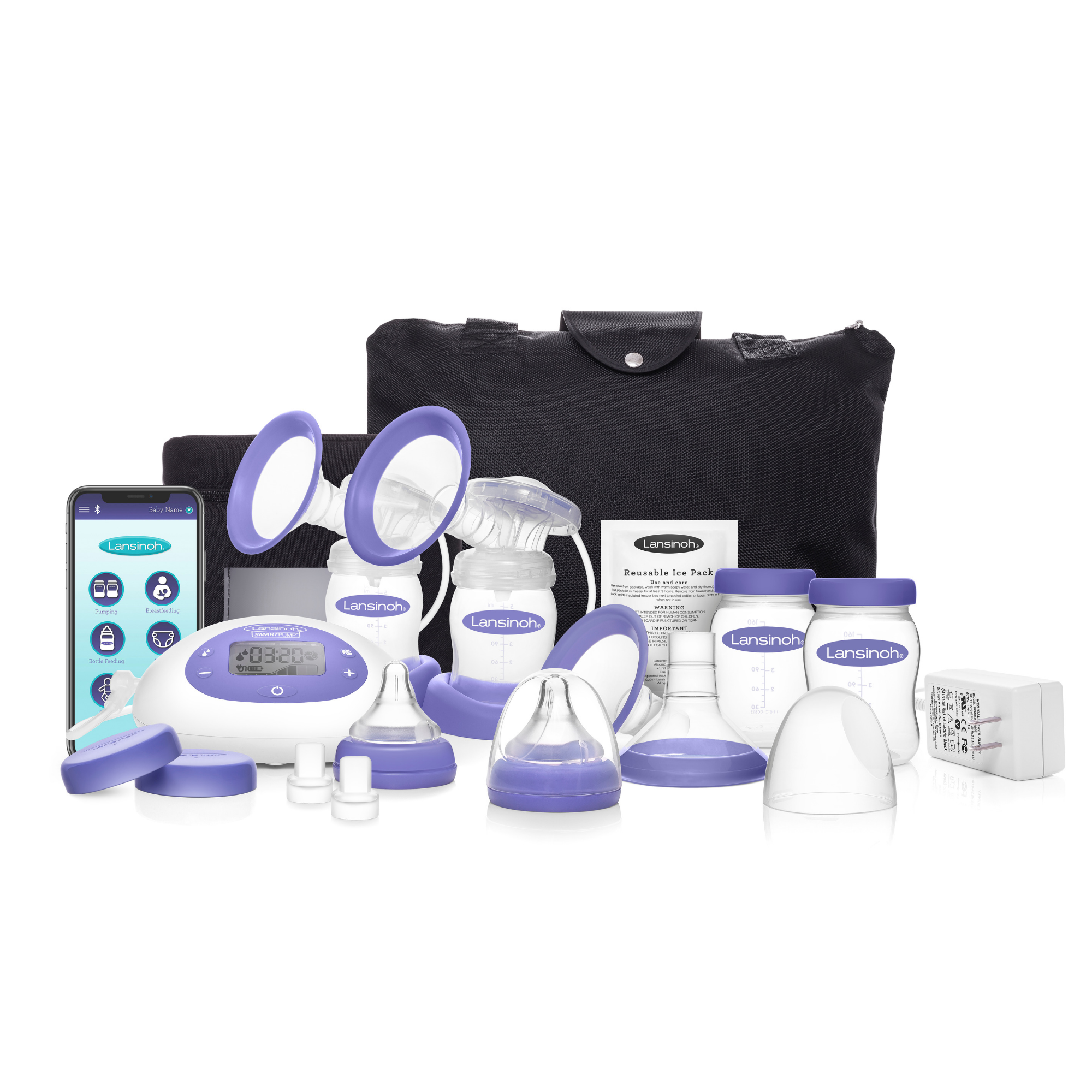 Lansinoh Smartpump Double Electric Breast Pump From Walmart In