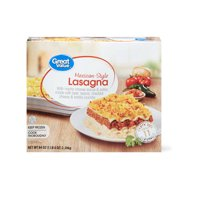 Great Value Frozen Mexican-Style Lasagna, Party Size, 84 oz