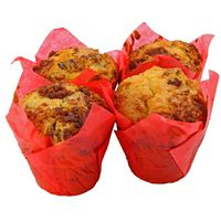 Central Market Pecan Sourcream Muffins.
