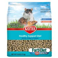 Kaytee Mouse, Rat & Hamster Healthy Support Diet Forti-Diet Pro Health