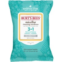 Burt's Bees Micellar Cleansing Towelettes - 30ct