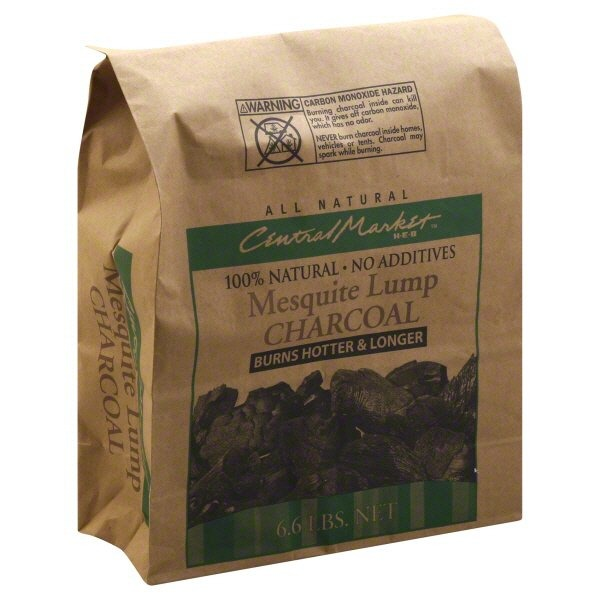 Central Market Mesquite Lump Charcoal