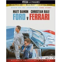 Ford v Ferrari (4K Ultra HD + Blu-ray + Digital Copy)