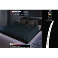 Monster Illuminessence 16.4' LED Strip Mood Light Kit with Premium RF Touch Remote