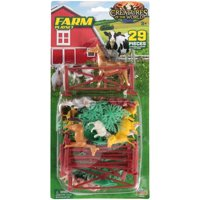 Imperial Toy® Creatures of the World® Farm Playset 29 pc Carded Pack
