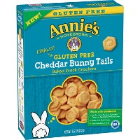 Annie's Cheddar Bunny Tails Gluten Free Baked Snack Crackers - 7.5oz
