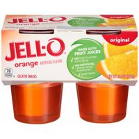 Jell-O Ready-to-Eat Orange Gelatin