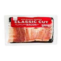Applewood Smoked Classic Cut Bacon - 16oz - Market Pantry™