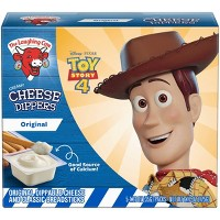 The Laughing Cow Creamy Swiss Cheese Dippers with Classic Breadsticks - 5pk