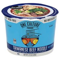 One Culture Foods Taiwanese Beef Noodle