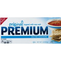 Nabisco Premium Original Topped with Sea Salt Saltine Crackers