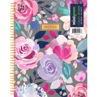 "Mintgreen Spiral Notebook, Dot Ruled, 3 Subject, 105 Sheets, 7.375"" x 9.75"", Color Choice Will Vary"