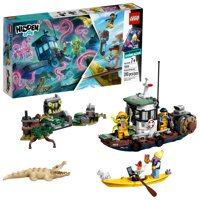 LEGO Hidden Side Augmented Reality (AR) Wrecked Shrimp Boat 70419 (310 Pieces)