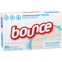 Bounce Free & Gentle Fabric Softener Dryer Sheets