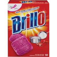 Brillo Steel Wool Soap Pads, 10 count